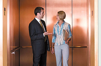 elevator speech photo